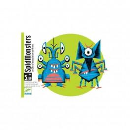 Cartas Spidmonsters - juegos de cartas para niños