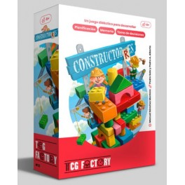Constructorres - juego de cartas para niños