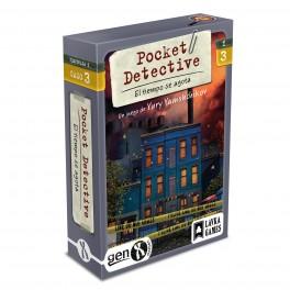 Pocket Detective: Temporada 1 Caso 3 El Tiempo se Agota - juego de cartas