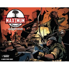 Maximum Apocalypse: Legendary Edition - juego de mesa
