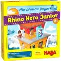 Mis Primeros Juegos: Rhino Hero Junior - juego de mesa para niños