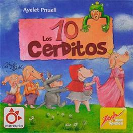 Los 10 Cerditos - juego de cartas para niños