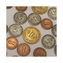 Paris: Monedas Metalicas - accesorio juego de mesa