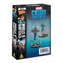 Marvel Crisis Protocol Storm and Cyclops - expansión juego de mesa