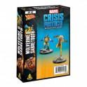 Marvel Crisis Protocol Wolverine and Sabretooth -expansión juego de mesa
