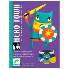 Cartas Hero Town - juego de cartas para niños