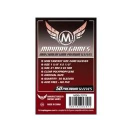 Fundas Protectoras Mayday Mini Quimera Premium- Tamaño 43x65 MM