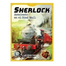 Serie Q Sherlock: Asesinato en el Sind Mail - juego de cartas