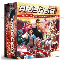 Aristeia: All in One Multiplayer Experience + Prime Time Multiplayer Expansion (castellano) - juego de mesa
