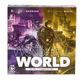 Its a Wonderful World: Auge y Corrupción + PROMOS - expansión juego de mesa