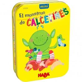 El monstruo de los calcetines Mini - juego de mesa para niños de Haba
