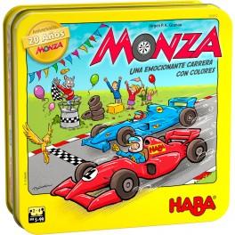 Monza: Edicion 20 Aniversario + PROMO - juego de mesa para niños de Haba