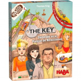 The Key – Sabotaje en el Parque de Atracciones - juego de mesa