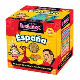 BrainBox: España - juego de cartas