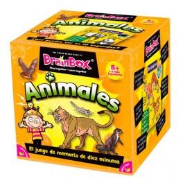 BrainBox: Animales - juego de cartas