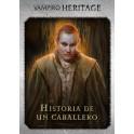 Vampiro la Mascarada Heritage: Expansion Historia de un Caballero - expansion juego de mesa