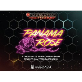 Altered Carbon Fightdrome: Panama Rose - juego de cartas