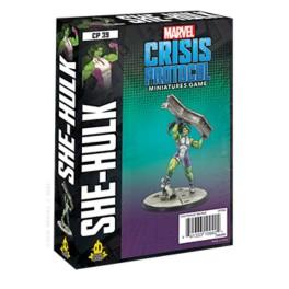 Marvel Crisis Protocol She Hulk - expansión juego de mesa