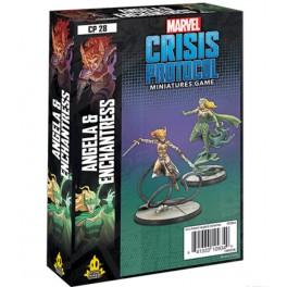 Marvel Crisis Protocol Angela and Enchantress - expanción juego de mesa