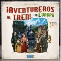 Aventureros al Tren - Europa 15 Aniversario - juego de mesa