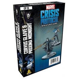 Marvel Crisis Protocol Corvus Glaive and Proxima Midnight - expansión juego de mesa