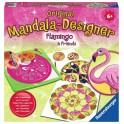 Mandala Designer Flamingo and Friends - juego de mesa