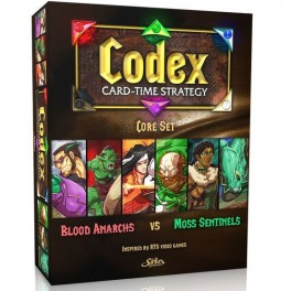 Codex: Core Set - Bood Anarchs VS Moss Sentinels - juego de cartas