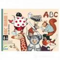 Cartas ABC Miam - juego de cartas para niños