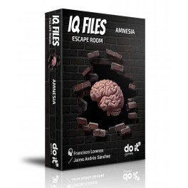 IQ Files: Amnesia - juego de cartas