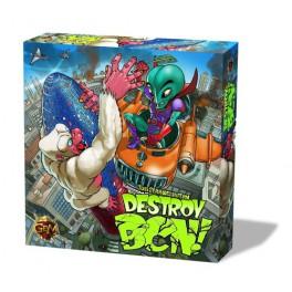 Destroy BCN juego de mesa