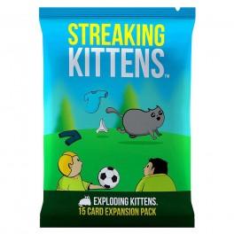 Exploding Kittens: Streaking Kittens - expansión juego de cartas