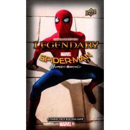 Legendary: A Marvel Deck-building game - Spiderman Homecoming - Edicion Limitada - expansión juego de cartas
