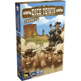 Dice Town: Expansion Cowboys - expansión juego de mesa