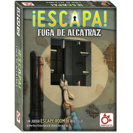 Escapa: Fuga de Alcatraz - juego de cartas