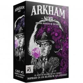 Arkham Noir 3: Abismos Infinitos de Oscuridad - juego de cartas