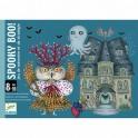 Cartas Spooky Boo - juego de cartas para niños