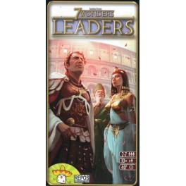 7 wonders leaders expansion juego de mesa