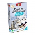 Desafios de la Naturaleza: Animales Inseparables - juego de cartas para niños