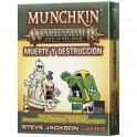 Munchkin Age of Sigmar: Muerte y Destruccion - expansión juego de cartas