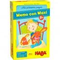 Mis primeros juegos: Memo con Maxi - juego de mesa para niños