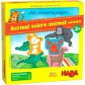 Mis primeros juegos: Animal Sobre Animal - juego de mesa para niños