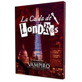 Vampiro: La Mascarada 5 edicion: La Caida de Londres - suplemento de rol