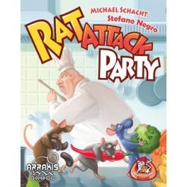 Rat Attack Party - juego de cartas