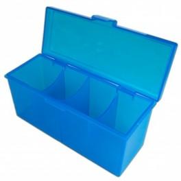 4 Compartment Storage Box Azul