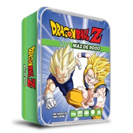 Dragon Ball Z: Mas de 9000 - juego de mesa