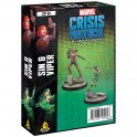 Marvel Crisis Protocol Sin and Viper
