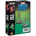 Marvel Crisis Protocol Sin and Viper - expansión juego de mesa