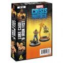 Marvel Crisis Protocol Luke Cage and Iron Fist - expansión juego de mesa