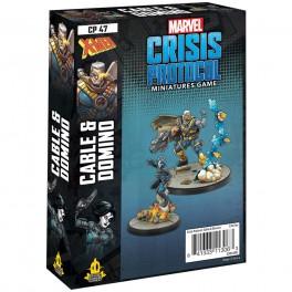 Marvel Crisis Protocol Domino and Cable - expansión juego de mesa