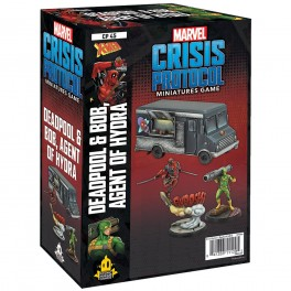 Marvel Crisis Protocol Deadpool and Bob - expansión juego de mesa